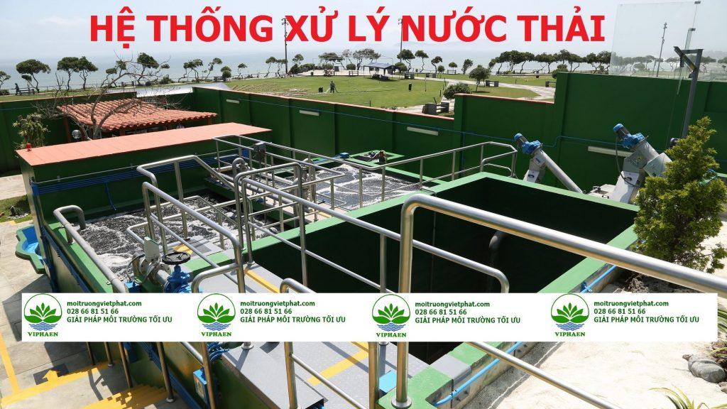 hệ thống xử lý nước thải thiết kế nổi