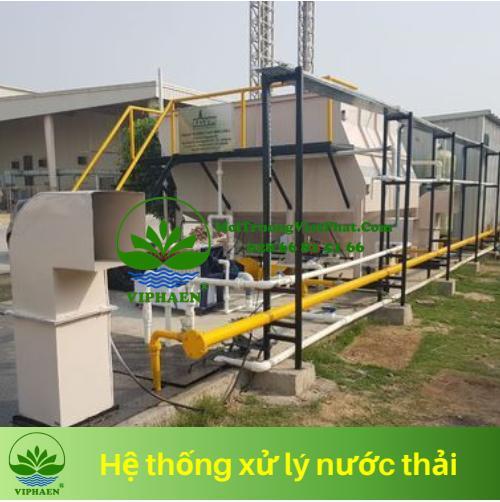 Xây dựng hệ thống xử lý nước thải trong khu công nghiệp