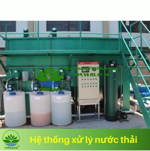 Xử lý nước thải y tế 2020