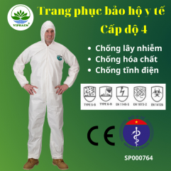 Trang phục bảo hộ y tế cấp độ 4 (4 món)